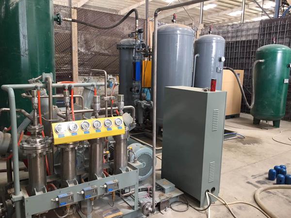 氮气加气站
